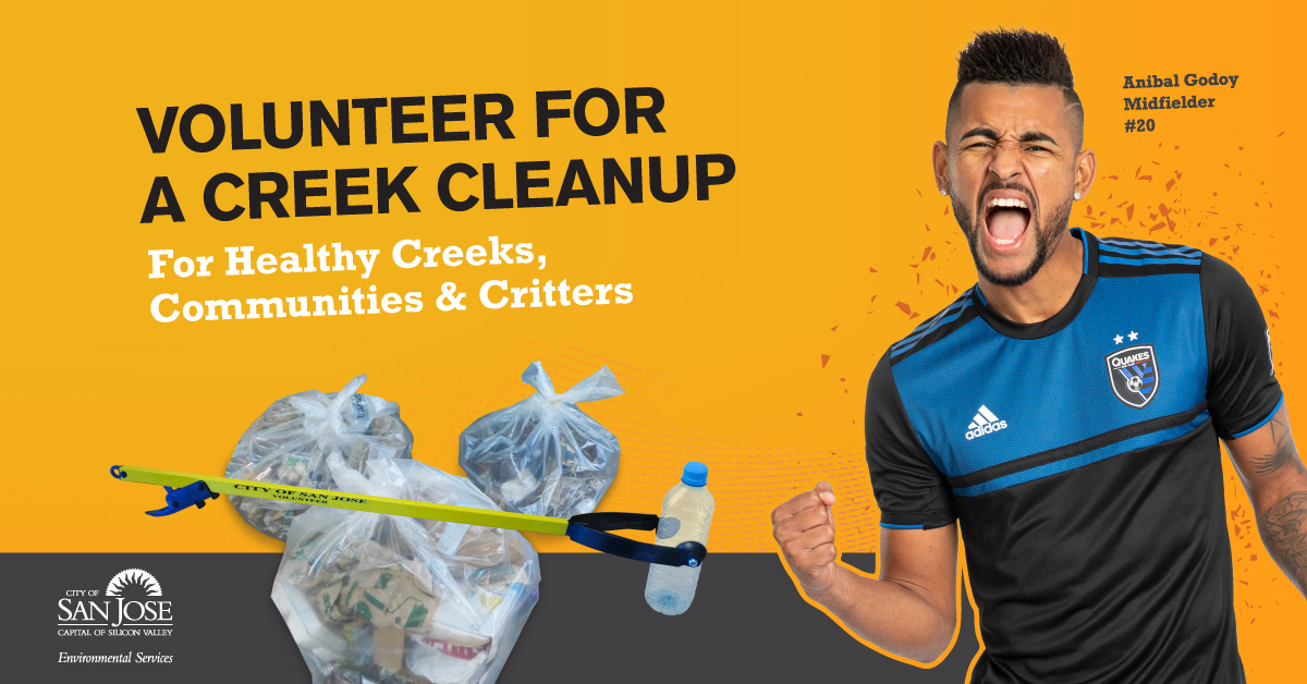 Volunteer for Creek Cleanup