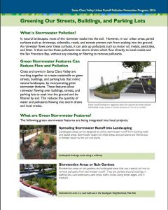 Green streets fact sheet