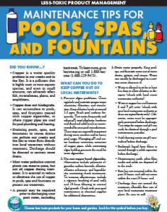 Maintenance Tips for Pools, Spas, and Fountains