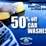 50% off car washes