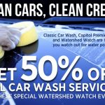 50% off car wash