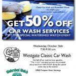 50% off car wash