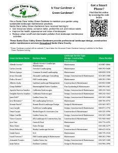 Green Gardener List