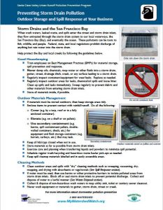 Outdoor Storage and Spill Response